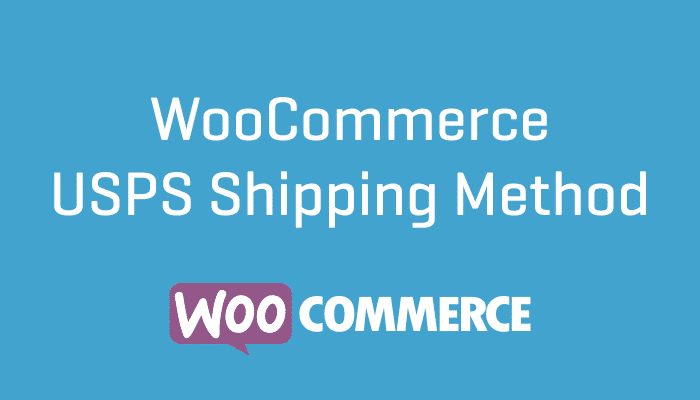 WooCommerce USPS Shipping Method Plugin