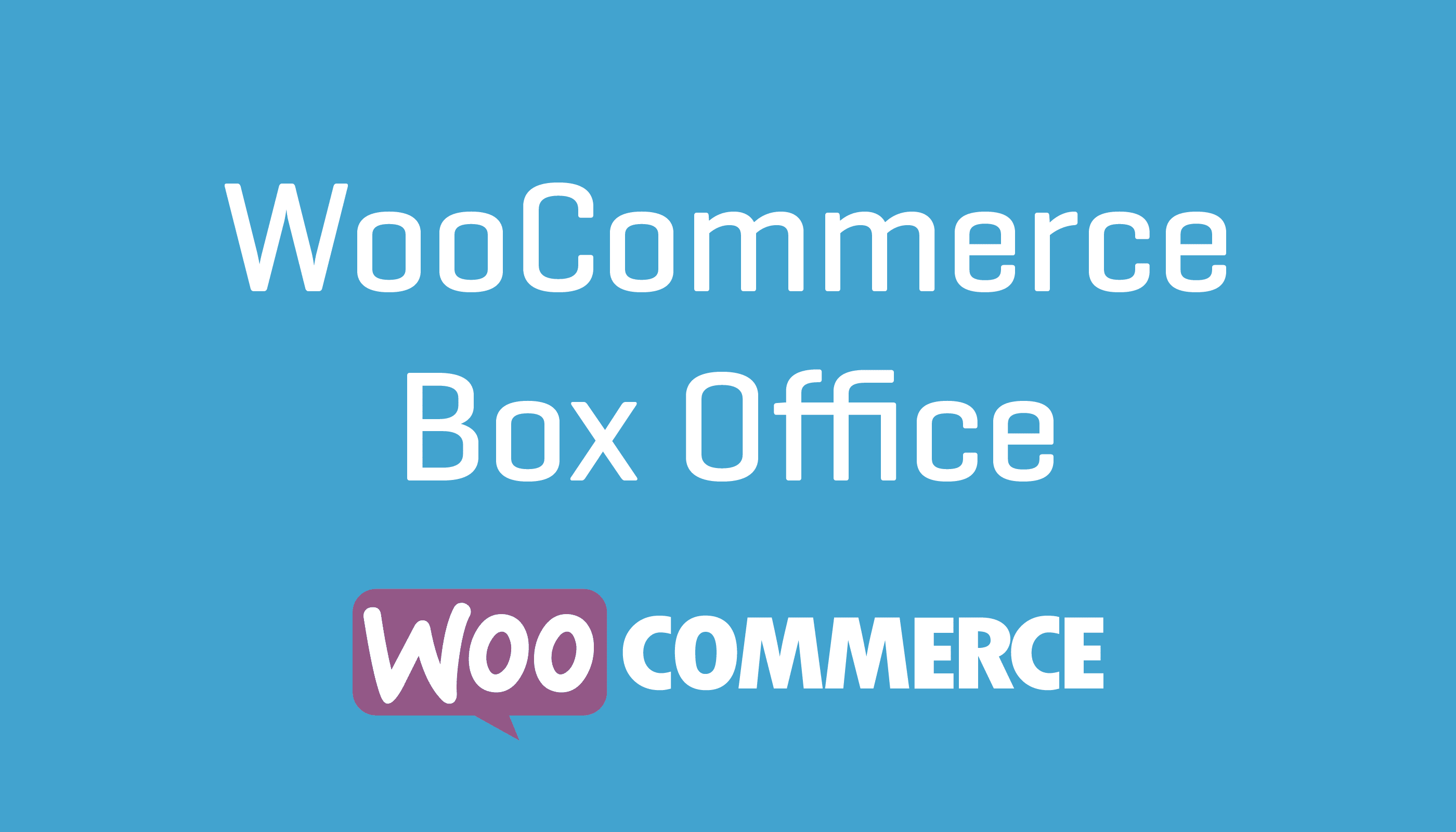 WooCommerce Box Office WooCommerce Extension