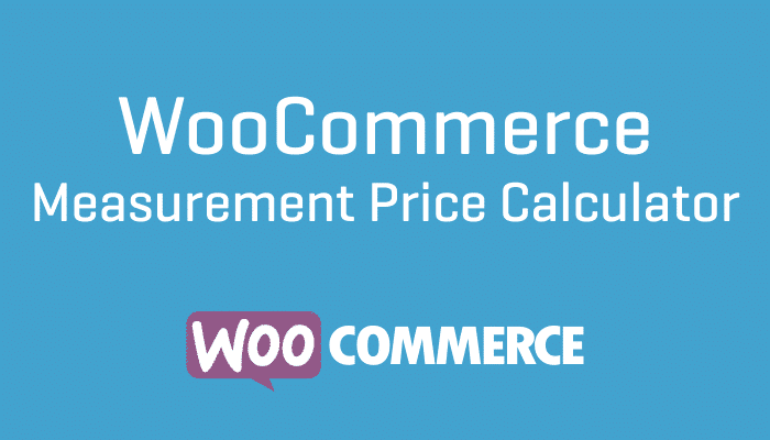 ooCommerce Measurement Price Calculator