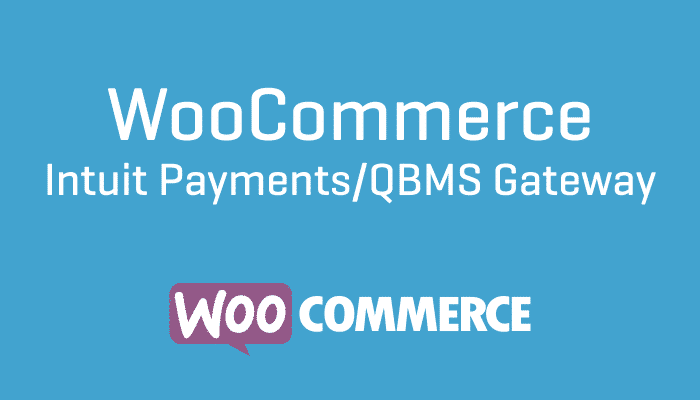 WooCommerce Intuit Payments:QBMS Gateway